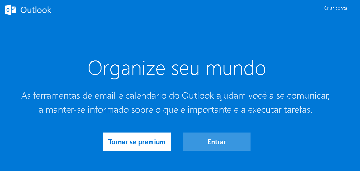 entrar no meu hotmail